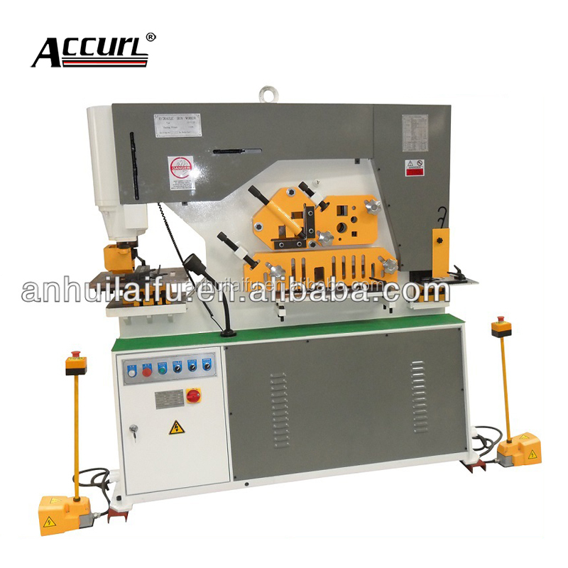 Iron steel punching shearing Ironworkers machine