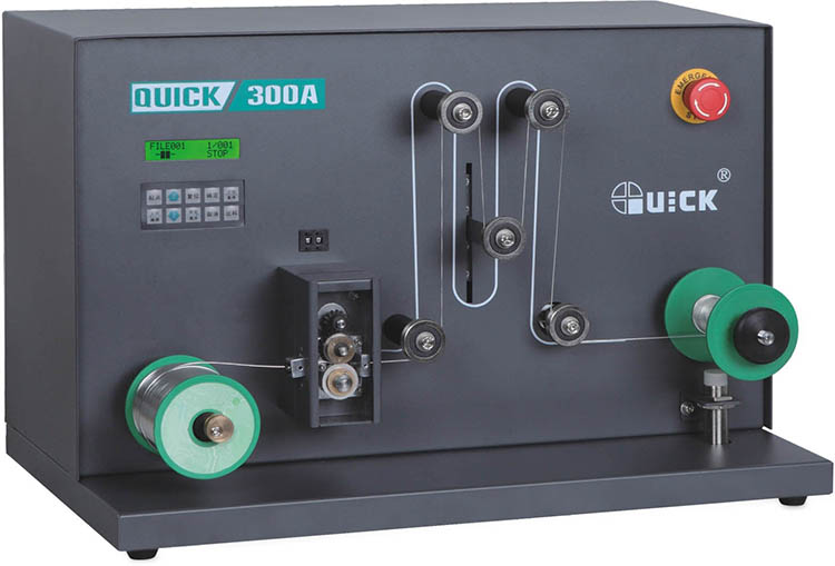 QUICK 300A china solder wire spool winder breaking and rolling station