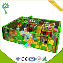 2017 Cheap Indoor Playground Price Children Commercial Equipment Forest Naughty Castle for Sale