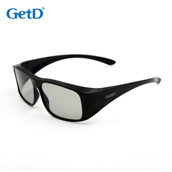 Reusable Passive Circular Polarized 3D glasses for 3D Cinema G78