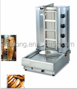 Gas doner kebab/small doner kebab machine/gas kebab machine