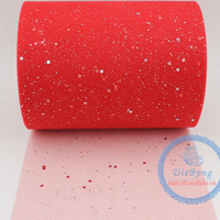 wholesale soft tulle roll sequin tulle roll for tutu dress wedding party or table decoration