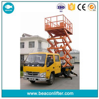 Economic new products vehicle-carrying arm folding lift table