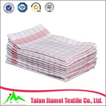 100% cotton kitchen towel tea towel dish towel factory in china