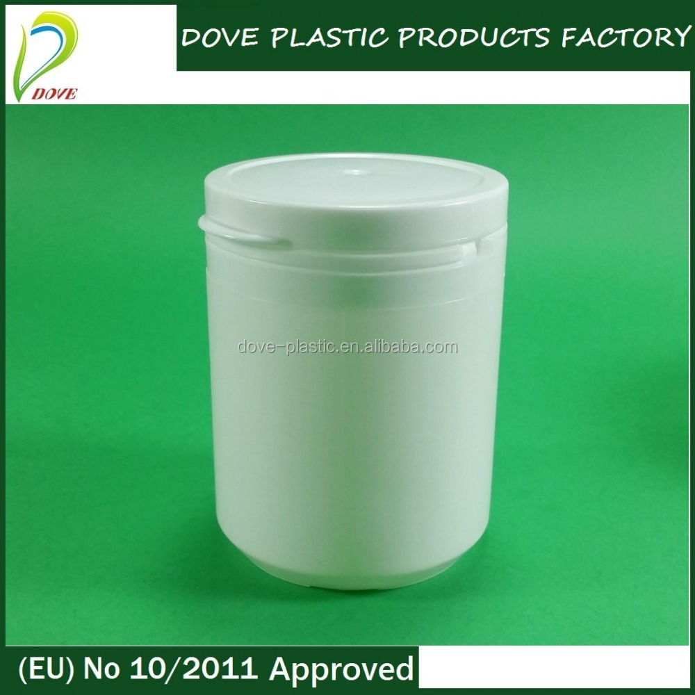 220ml plastic cylindrical container 220ml plastic tablet container for health supplement