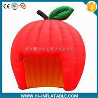 Hot sale event use inflatable tent with apple shape for sale