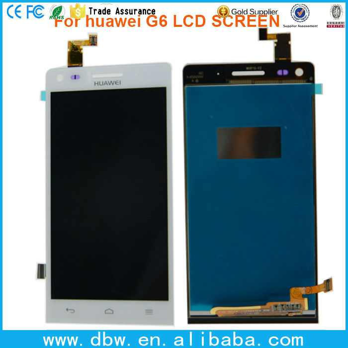 original new cheap lcd + digi for Huawei Ascend G6