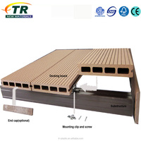 Durable Anti Uv Plastic Wood Floor