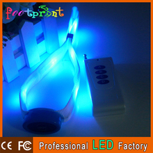 Festive crafts remote controlled led flashlight wristband