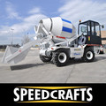 Concrete mixer - Mobile self loading mixer