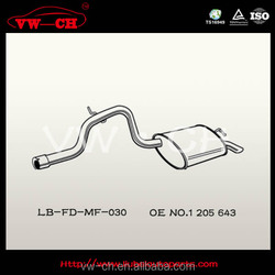 Muffler Silence Exhaust 1 205 643 for car