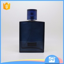 A3220-100ml rectangle flat big man cosmetic square glass bottle