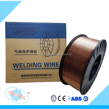 welding wire ER 70S-6 Carbon steel Alloy Material CO2 MIG welding wire ER 70S-6