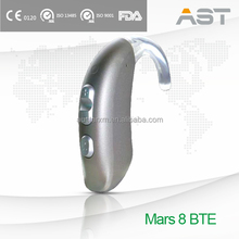 Mars 8 new design hearing aid BTE Prevent complex signal distortion