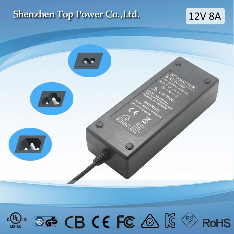 desktop power supply 24v 4a ac dc switching power adaptor 96w computer ac dc adapter