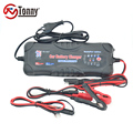 2/5/10 Amp Battery Charger/Maintainer with 12 volt and 24 volt Charging Selectivity and Smart Charging Technology