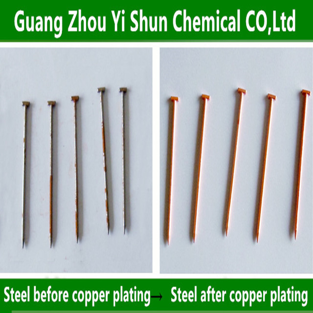Metal electroless plating process Iron chemical plating process