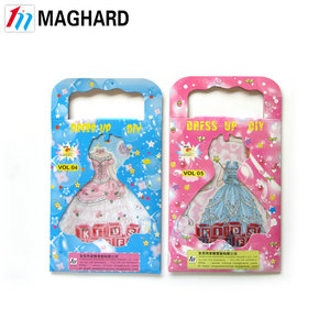 Hot China Products Wholesale Magnetic DIY Toy magnetic dress up