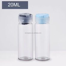 20ml glass sterile vials with rubber stopp and plastic cap manufacturer