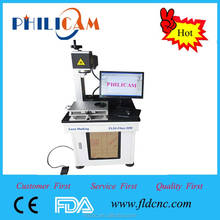 Cheap car number plate making machine Jinan Lifan PHILICAM 10w/20w fiber laser marking machine
