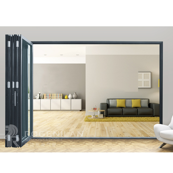 ROGENILAN 75 series office aluminum folding room divider partition wall