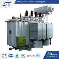 Newest Design Electrical Equipment 3 Phase 33 Kv Oil Immersed Distribution Transformer