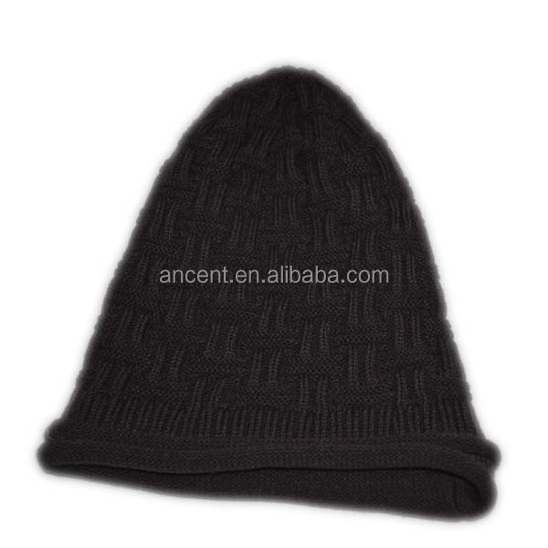 fashion top cheap stores sell custom xxxl hats wholesale knitted hat blank checked beanie cap