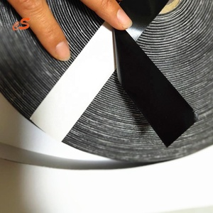 Huzhou Factory Wholesale High Quality Decorative Polyester Solid Color adhesive Satin Ribbon