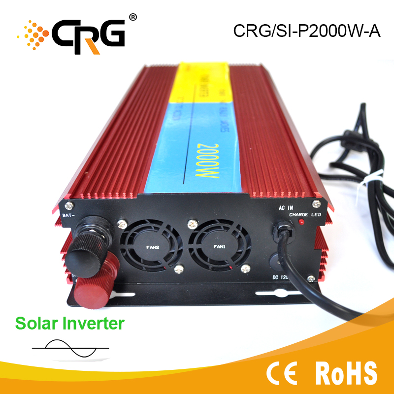 600W micro off grid pure sine wave solar inverter with built-in charge controller