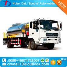 heated asphalt tankers dongfeng liquid bitumen asphalt distributor truck for sale