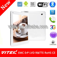 Factory 7.85 inch 3G Phablet Dual Core Mediatek Tablet
