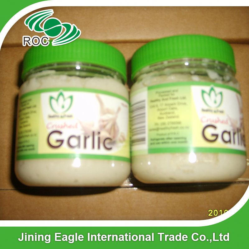 supplier crushed spicy fresh garlic paste