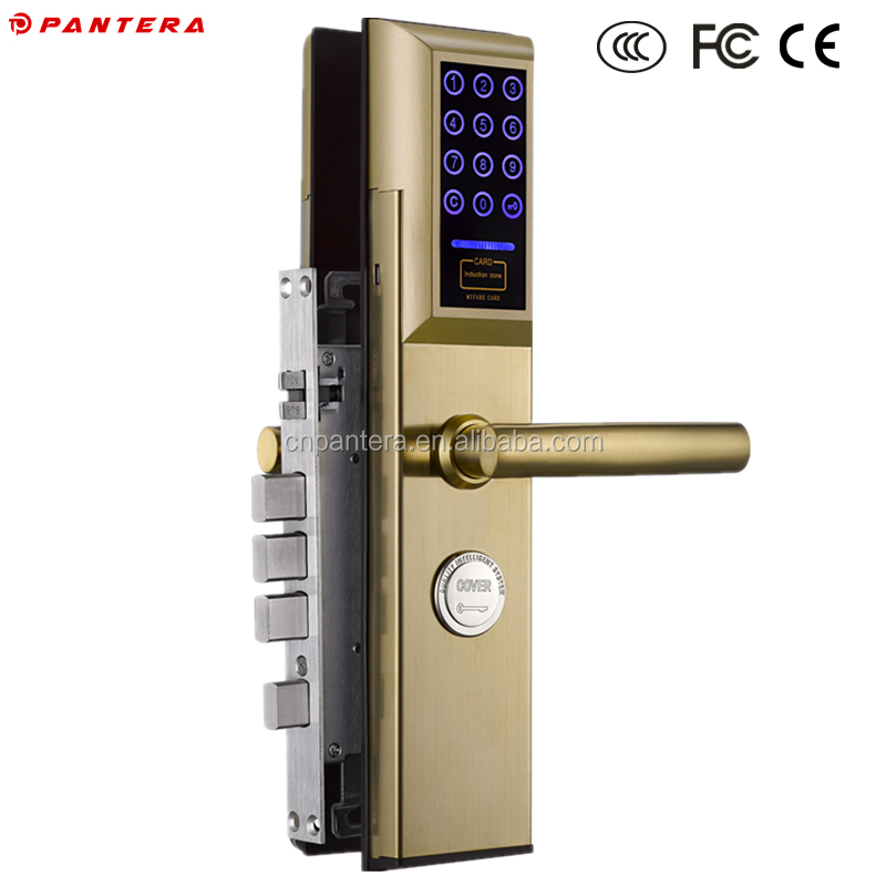 Electronic Cheap Lock Suppier Hotel Use RFID Function Safe Keyless Digital Card Locks