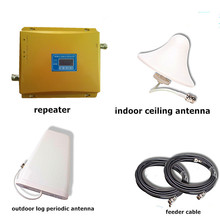 GSM/3G 900/2100 Dual Band Cell phone Internet Signal Booster /Repeater/Amplifier
