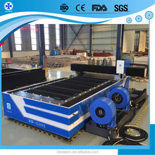 500w 1kw Yaskawa Servo Motor Taiwan YYC Guide Rail mild steel fiber laser cutting machine for Metal Industry