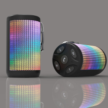 2017 autumn best disco led light bluetooth speaker for free smaple