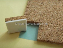 adhesive cork pads with foam for glass protection spacers