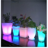 led vase for bar/home/festival decoration/led flower pot