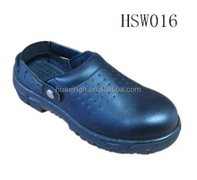 CY, air holes upper injection PU sole kitchen working oil resistant chef clogs for cook