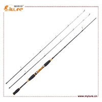 Hight Quality Products 2 Tips Spinning Fishing Rod Carbon Fiber