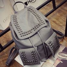 BP011 unique 2016 bags school backpack for girls cooler studded backs bags