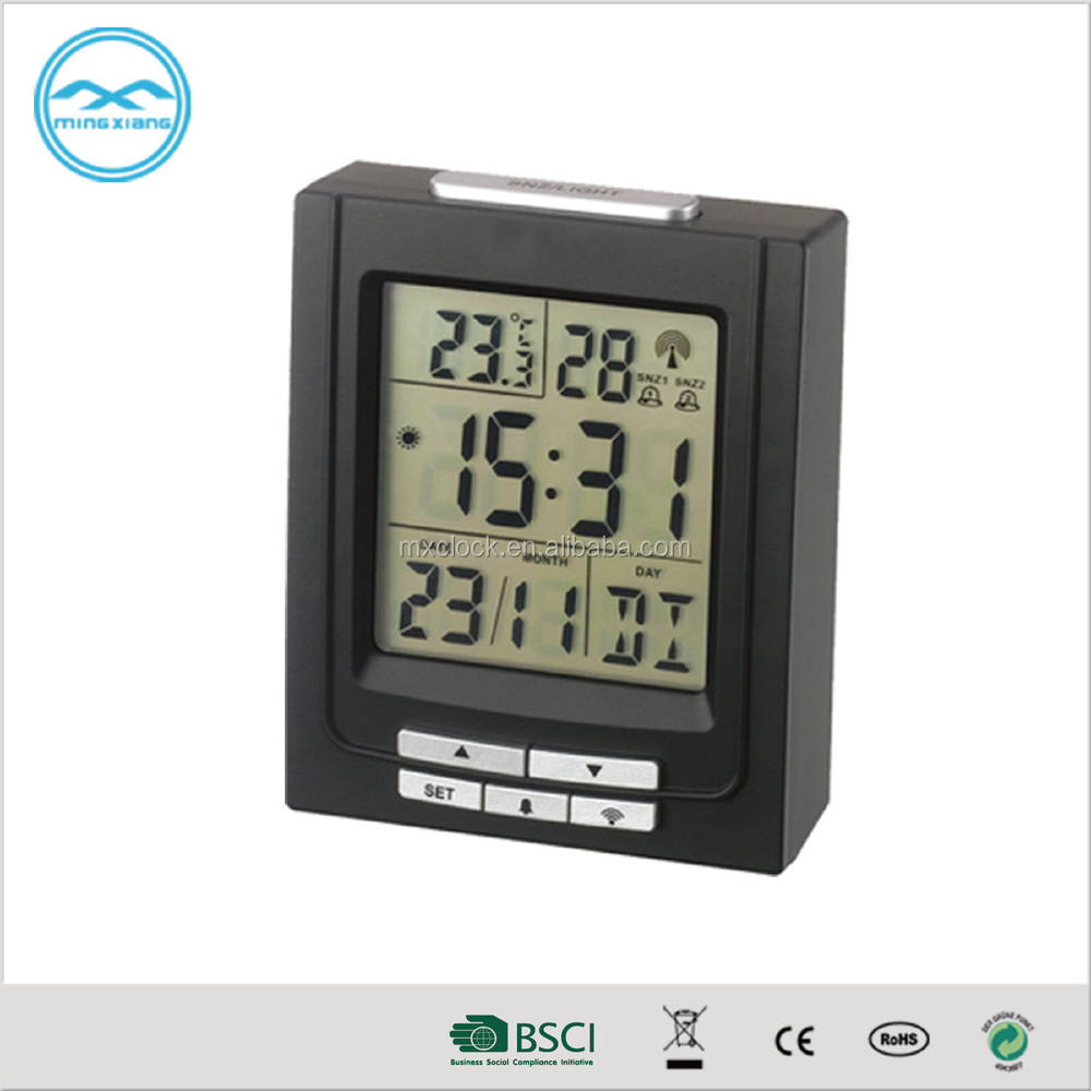 YD 8212C Promotion Table Alarm Clock With Temperature Calendar