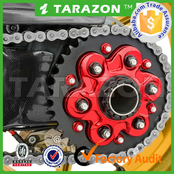 TARAZON new design motorcycle spare parts sprocket for supermoto