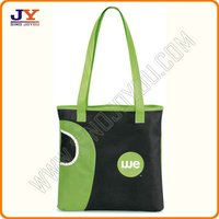 190D Polyester girl school tote bag