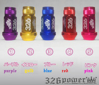 JDM VIP DRIFT 326 POWER LUG NUTS 326power