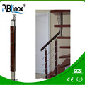 Stainless steel modern design staircase pipe railing price india
