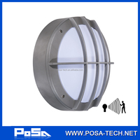 high quality 10W led bulkhead light with motion sensor, IP65 (PS-BL-LEDS003M)