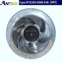 high flow 2520m3/h waterproof outdoor exhaust fan for cabinet air exhausting