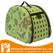 Customized easy carrying EVA pet carrier bag