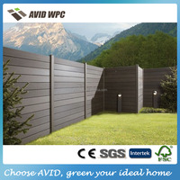 Garden style wood fence/ cheap wood fence popular designed